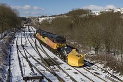 20180319_IMG_2852 (PowerPhoto.co.uk) Tags: colasrail class56 grid diesel locomotive 56078 56096 adb965580 adb965581 1z99 snowplough train railway snow greatrocks