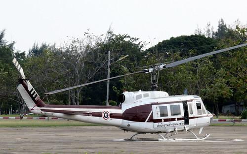 1712 / Bell 205A-1 / cn 30144 /  Camp Naresuan / Hua Hin / 30Dec18 /
