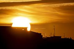 Puesta de sol (David A.L.) Tags: asturias asturies gijón puestadesol sol solponiente contraluz atardecer