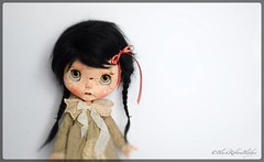 "F/A Latest Blythe Doll ""Sad Sally""  (New photos as we have light today yay!) (Helen CW - Black Ribbon Blythes) Tags: blackribbonblythes blythe blythedoll blythecustomiser blythecustom artistdoll artistblythedoll artdoll customblythedoll customdoll ooakdoll ooakblythedoll gothicblythedoll gothicdoll"