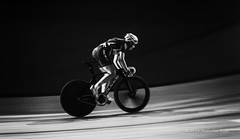 Six Day London (450) (Malcolm Bull) Tags: include six day london cycling lee valley velodrome mono 201810280450edited1web