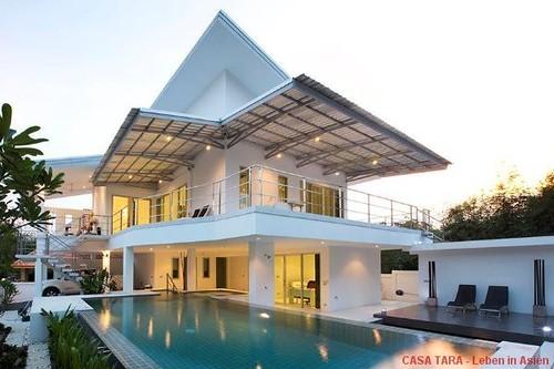 Hua Hin - Architektenvilla mit viel Raumangebot und Pool nahe Zentrum Hua Hin