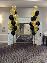 Floor Bouquets (PartiLife) Tags: gold black basics floorbouquets
