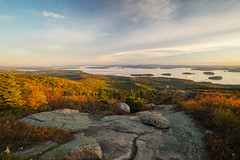 (mdiec) Tags: new england acadia national park maine sunrise cadillac mountain fall autumn foliage summit nature