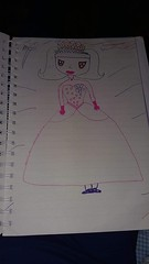 the result :) (ghostgirl_Annver) Tags: annver drawing princess manga picture painting child art