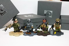 Collectors sets for a friend! (R.Goff1) Tags: custom minifigs compatible military