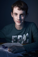 LucBefore16Jan2019_6101635 3 (labrossephotography) Tags: boy teen teenager son strobist flash studio prime 50mmf18 nikond610 captureone smile adolescent 16yo kid epic