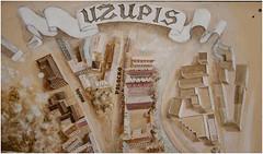 200-PLANO DE UZUPIS - VILNIUS - LITUANIA - (--MARCO POLO--) Tags: rincones ciudades curiosidades
