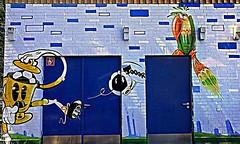 Berlin 2018.06.07. Mural 138.9 - FC Kreuzberg - 2014 (Rainer Pidun) Tags: mural streetart urbanart publicart berlin