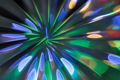 iridescent abstract (Wendy G Davies) Tags: glass crystal abstract iridescent picktwo macromondays