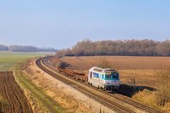 21 janvier 2019 BB 67451 Train 816433 Noisy-le-Sec -> Longueville Maison-Rouge (77) (Anthony Q) Tags: 21 janvier 2019 bb 67451 train 816433 noisylesec longueville maisonrouge 77 infra ferroviaire bb67400 bb67451 sncf wagon