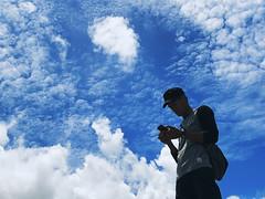 uploadingToTheCloud (.maique.) Tags: theamazinghoneymoon travel asia shotoniphone shotoniphonex seetheworld travelasia cambodia kohrong kohrongsamloem beach beachlife sea ocean lookup cloudporn