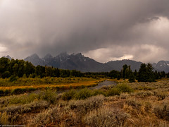 Weather (Ramona H) Tags: grandtetonnationalpark schwabacher schwabacherlanding tetons wy wyoming nationalpark