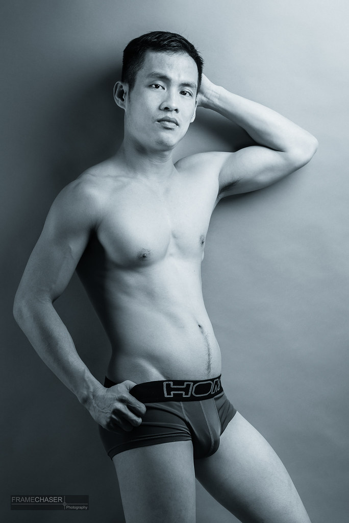 DL III (FrameChaser) Tags: male men asian portrait fineart studio nude  model briefs