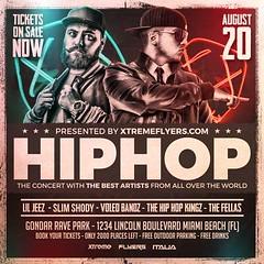 Concert Flyer Template (XtremeFlyers) Tags: concert dj hiphop rap rapper tour