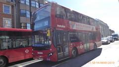 P1150112 VMH2558 LA68 DXK at Hackney Town Hall Mare Street Hackney Central London (LJ61 GXN (was LK60 HPJ)) Tags: metroline volvob5lhybrid mcv evoseti mcvevoseti 105m 10490mm vmh2558 la68dxk nb963
