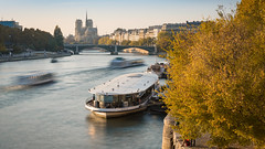 Automne à Paris-2018 (Justin.S.) Tags: arbre automne autumn bateau blog boat facebook flickr france iledefrance instagram longexposure notredamedeparis paris poselongue publiee seine tree
