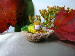 137-Yellow Corn fairy 11mm (2) (tinyteensdolls) Tags: amigurumi artdoll amigurumidoll amigurumiplant crochet craft crochetmini crochettoy crochetminiature crochetdoll miniature mini microcrochet micro miniamigurumi minicrochet fairytail fairy corn yellow autumn autumnleaves