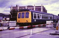 Slide 125-65 (Steve Guess) Tags: barbsley south yorkshire england gb uk british eail diesel unit dmu train kingoftheroad