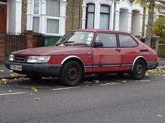 1989 Saab 900i (Neil's classics) Tags: vehicle 1989 saab 900i car