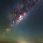 Milky Way at South Dandalup Dam, Western Australia thumbnail