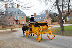 Horse drawn coach in Colonial Williamsburg (ABWphoto!) Tags: usa virginia williamsburg colonialwilliamsburg coach transportation driver historic landmark horsedrawn people outdoors palace architecture roadway