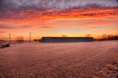 A Frosted Daybreak (kendoman26) Tags: hdr nikhdrefexpro2 sunrise morrisillinois morning sky clouds frost nikon nikond7100 tokinaatx1228prodx tokina tokina1228