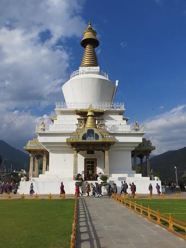 06 02 Bhutan - Thimpu - Memorial Chorten 018