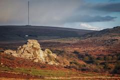 The Forbidden Tor (Rich Walker Photography) Tags: dartmoor devon landscapes landscape landscapephotography landmark landmarks tor granite sky cloud field autumn sunlight evening sunset england efs1585mmisusm eos eos80d uk greatbritain