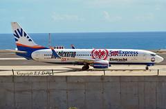 Boeing 737-8Z9 D-ASXB Sun Express Germany (EI-DTG) Tags: fuerteventura fue 29oct2018 b737 boeing737 sunexpress dasxb