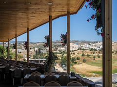 LR Jordan 2017-4240761 (hunbille) Tags: jordan restaurant jerash framed view empty