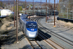 Acela 2002 South At Aberdeen (DJ Witty) Tags: passenger commuter train photography railroad amtrak acela highspeed