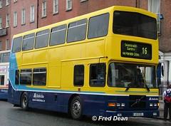 Dublin Bus RV455 (99D455). (Fred Dean Jnr) Tags: april2005 dublin dublinbus busathacliath dublinbusyellowbluelivery volvo olympian alexander r dublinbusroute16 rv455 99d455 parnellsquarewestdublin s905ohn