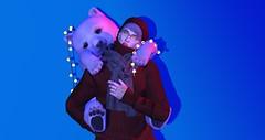 ʙᴇᴀʀ (ѕєαи) Tags: secondlife sl gb bear polar hat glasses