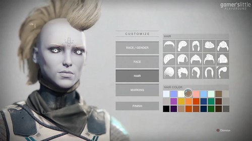 Destiny 2 Character Creation