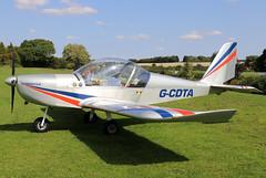 G-CDTA (GH@BHD) Tags: gcdta evektor evektoraerotechnik ev97 eurostar teameurostar microlight laa laarally laarally2018 sywellairfield sywell aircraft aviation