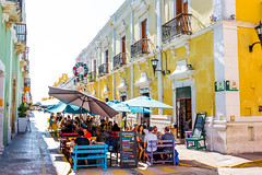 Streets of Campeche (Globalbirder) Tags: gulfofmexico campeche mexico travelphotography pictravelvacationfernwehgulfofmexiconatureyucatan