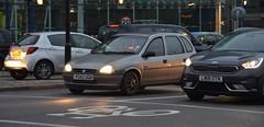 (Sam Tait) Tags: vauxhall corsa 5 door retro car london grey 90s gls 11 petrol 1997