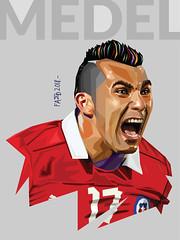 Gary Medel (fellipe O_o) Tags: medel gary play chilean chileno pitbull besiktas laroja selección defensa