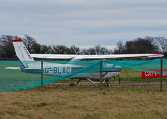 G-BLAC Cessna 152 (SteveDHall) Tags: aircraft airport aviation airfield aerodrome aeroplane airplane cranfield 2018 stored cranfielduniversity gblac cessna c152 cessna152 ga generalaviation lightaircraft
