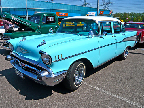 Chevrolet Bel Air Sedan 1957 (1000157)