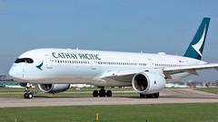 B-LRN (AnDyMHoLdEn) Tags: cathaypacific a350 oneworld egcc airport manchester manchesterairport 23l