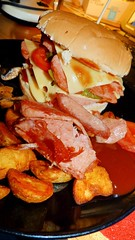 SPAM Burger (Charles Dawson) Tags: food