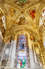 DSCF3485 (Patrick Hadfield) Tags: church architecture ceiling vaulting painting fresco