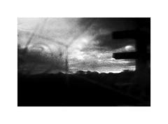 7539 (ICM's & Polaroids) Tags: icm intentionalcameramovement painterly longexposure landscape blur bw blackandwhite