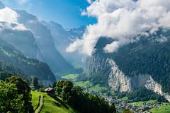 Lauterbrunnen (olle.graf) Tags: 2018 olle berneroberland d3300 lauterbrunnen nikon schweiz september switzerland berge eis ice mountain schnee snow bern ch