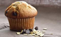 DSC_0035_culinaire (Josée Ferland) Tags: muffin chocolat avoine