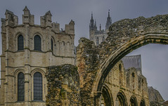 Canterbury Cathedral (y.mihov, Big Thanks for more than a million views) Tags: canterbury cathedral europe england englanduk wealth winter wide trespass travel tourist town ruins architecture art sonyalpha sightseeing sigma 24105mm stone church chapel mason window historical house high rocks retro outdoor
