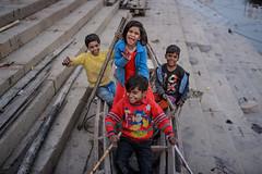 DSC_3543.jpg (Shameem Shah) Tags: colorful travel india boat kids happy varanasi shutterarts street kid