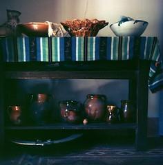 Interior (davidgarciadorado) Tags: la mancha spain pottery evening available light 120film 6x6 portra 400 rolleiflex tlr